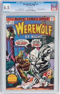 Werewolf by Night #32 (Marvel, 1975) CGC FN+ 6.5 White pages