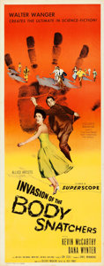 "Movie Posters:Science Fiction, Invasion of the Body Snatchers (Allied Artists, 1956). Insert (14"" X 36"").. ..."