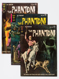 Silver Age (1956-1969):Adventure, Phantom Group of 5 (Gold Key, 1962-66) Condition: Average VF.... (Total: 5 Comic Books)