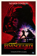 "Movie Posters:Science Fiction, Revenge of the Jedi (20th Century Fox, 1982). One Sheet (27"" X 41"")Dated Style.. ..."