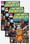 Modern Age (1980-Present):Superhero, The Infinity Gauntlet #1 Group of 6 (Marvel, 1991) Condition:Average FN/VF.... (Total: 6 Comic Books)