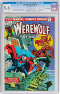 Bronze Age (1970-1979):Horror, Werewolf by Night #15 Don Rosa Collection Pedigree (Marvel, 1974)CGC NM+ 9.6 Off-white to white pages....