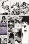 Original Comic Art:Panel Pages, Richard Corben Hot Stuf' #3 Story Page 10 Original Art (SalQuartuccio, 1978)....