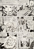 Original Comic Art:Panel Pages, Jack Kirby and Mike Royer The Eternals #12 Story Page7 Original Art (Marvel, 1977)....