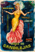"Movie Posters:Musical, There's No Business Like Show Business (20th Century Fox, R-1959).Spanish One Sheet (26.75"" X 39.5"") Jano Artwork.. ..."