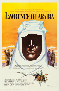 "Lawrence of Arabia (Columbia, 1962). One Sheet (27"" X 41"") Roadshow Style B"