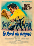 "Movie Posters:Elvis Presley, Jailhouse Rock (MGM, 1957). French Grande (47.25"" X 63"") RogerSoubie Artwork.. ..."
