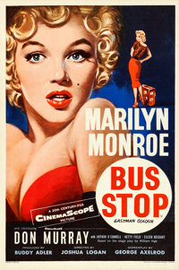 "Bus Stop (20th Century Fox, 1956). British Double Crown (20"" X 30"") Tom Chantrell Artwork"