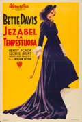 "Movie Posters:Drama, Jezebel (Warner Brothers, 1938). Argentinean Poster (29"" X 43"")....."