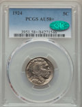 Buffalo Nickels: , 1924 5C AU58+ PCGS. CAC. PCGS Population: (78/1118 and 1/9+). NGC Census: (47/597 and 0/1+). CDN: $44 Whsle. Bid for proble...