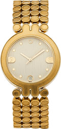 Estate Jewelry:Watches, Harry Winston Lady's Gold Classique Watch. ...