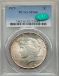 Peace Dollars: , 1925 $1 MS66 PCGS. CAC. PCGS Population: (1934/114). NGC Census:(1779/88). CDN: $340 Whsle. Bid for problem-free NGC/PCGS ...