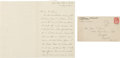 Autographs:U.S. Presidents, Woodrow Wilson Autograph Letter Signed ... (Total: 2 Items)
