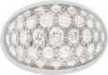 Estate Jewelry:Rings, Diamond, Rock Crystal Quartz, White Gold Ring, Cartier, French. ...