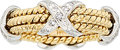 Estate Jewelry:Rings, Diamond, Platinum, Gold Ring, Schlumberger for Tiffany & Co.....
