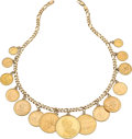 Estate Jewelry:Necklaces, Gold Coin, Gold Necklace . ...