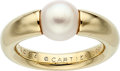 Estate Jewelry:Rings, Cultured Pearl, Gold Ring, Cartier. ...
