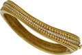 Estate Jewelry:Bracelets, Diamond, Gold Bracelet, Kieselstein-Cord. ...