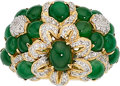 Estate Jewelry:Rings, Diamond, Jadeite Jade, Gold Ring. ...