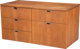 Florence Schust Knoll (American, b. 1917) Credenza, circa 1973, Knoll International Teak 25-1/2 x 37-1/2 x 18 inches