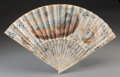 Decorative Arts, French:Other , A French Painted Fan with Ballooning Motif, circa 1790. 11-1/8inches high x 19 inches wide (28.3 x 48.3 cm) (largest, unfol...