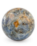 Lapidary Art:Eggs and Spheres, Kyanite Sphere. Russia. 3.50 inches (8.89 cm) in diameter....