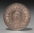 Decorative Arts, Continental:Other , Munster Sede Vacante Silver Medal 1801. 55mm. ...