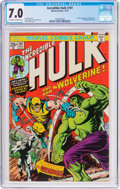 Bronze Age (1970-1979):Superhero, The Incredible Hulk #181 (Marvel, 1974) CGC FN/VF 7.0 Off-white to white pages....