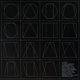 Sol LeWitt (1928-2007) All Double Combination of Six Geometric Figures, 1977 Etching and aquatint on black wove paper