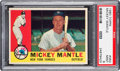 Baseball Cards:Singles (1960-1969), 1960 Topps Mickey Mantle #350 PSA Mint 9 - None Higher....