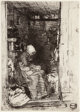 James Abbott McNeill Whistler (American, 1834-1903) La Vielle aux Loques, From Twelve Etchings from Nature, 1818 Etchi...