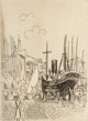 Raoul Dufy (French, 1877-1953) La Bath England Etching 7-3/4 x 5-3/4 inches (19.7 x 14.6 cm) (image) Signed and insc