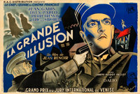 "La Grande Illusion (R.A.C., 1937). French Double Grande (62.75"" X 93"") N. Brodsky Artwork"