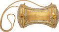Music Memorabilia:Costumes, A Connie Francis Fancy Evening Clutch Purse by Judith Leiber, 1980s....