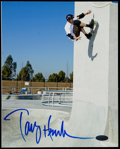 Miscellaneous Collectibles:General, Tony Hawk Signed Photograph...