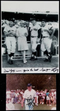 Autographs:Others, Doris Day and Bob Hope Signed Photograph Pair (2) - To YogiBerra....