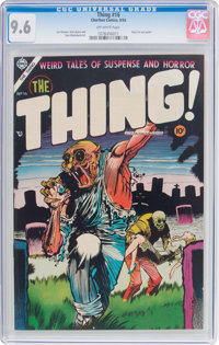 The Thing! #16 (Charlton, 1954) CGC NM+ 9.6 Off-white pages