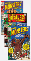 Bronze Age (1970-1979):Horror, Marvel Silver Age Monster Comics Group of 35 (Marvel, 1970-74)Condition: Average FN/VF.... (Total: 35 Comic Books)