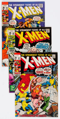X-Men Group of 26 (Marvel, 1968-83) Condition: Average VF.... (Total: 26 Comic Books)