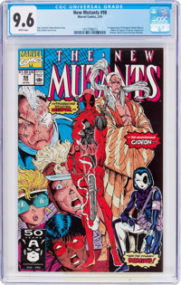 The New Mutants #98 (Marvel, 1991) CGC NM+ 9.6 White pages