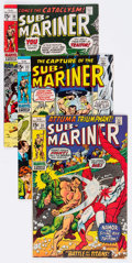 Bronze Age (1970-1979):Superhero, The Sub-Mariner #31-72 Group of 42 (Marvel, 1970-74) Condition: Average GD/VG.... (Total: 42 Comic Books)