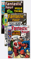 Bronze Age (1970-1979):Superhero, Fantastic Four Group of 27 (Marvel, 1969-72) Condition: Average VG/FN.... (Total: 27 Comic Books)