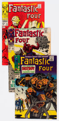 Silver Age (1956-1969):Superhero, Fantastic Four Group of 14 (Marvel, 1966-68) Condition: Average GD+.... (Total: 14 Comic Books)