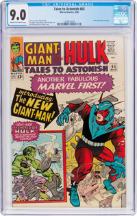 Tales to Astonish #65 (Marvel, 1965) CGC VF/NM 9.0 Cream to off-white pages