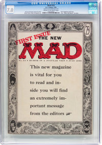 MAD #24 Bill Elder File Copy (EC, 1955) CGC FN/VF 7.0 Cream to off-white pages