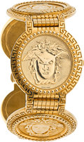 Estate Jewelry:Watches, Gianni Versace Unisex Gold Watch . ...