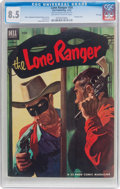 Golden Age (1938-1955):Western, Lone Ranger #54 File Copy (Dell, 1952) CGC VF+ 8.5 Off-white towhite pages....