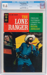 Lone Ranger #15 File Copy (Gold Key, 1969) CGC NM+ 9.6 Off-white to white pages