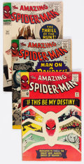 Silver Age (1956-1969):Superhero, The Amazing Spider-Man Group of 7 (Marvel, 1965-67) Condition: Average VG-.... (Total: 7 Comic Books)