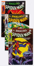 Bronze Age (1970-1979):Superhero, The Amazing Spider-Man Group of 24 (Marvel, 1969-71) Condition:Average VG/FN.... (Total: 24 Comic Books)